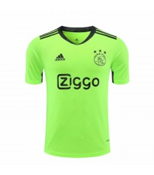 Ajax Green Goalkeeper Football Shirt Mens Soccer Jersey 2020-2021