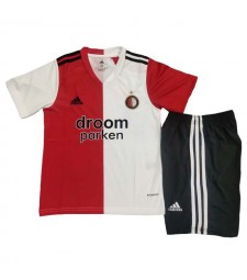 Feyenoord Home Soccer Jersey Kids Kit Football Shirt Youth Uniforms 2020-2021