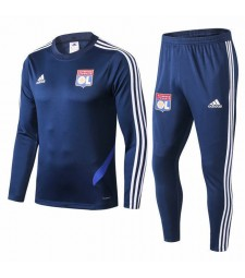 Olympique Lyon Royal Blue Tracksuit 2019-2020