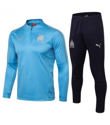 Olympique Marseille Light Blue Tracksuit 2018/2019