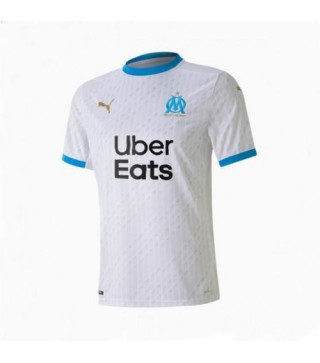 Olympique Marseille Home Football Shirt Mens Soccer Jersey 2020-2021