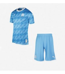Olympique Marseille Kids Kit Football Away Jersey 2019-2020