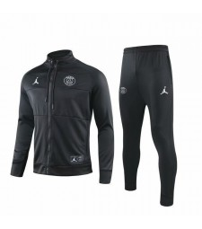 Jordan Paris Saint Germain Black Jacket Kit With Rope 2019-2020