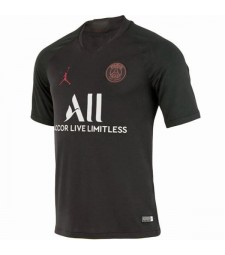 Jordan Paris Saint Germain Home Black Soccer Jersey 2019-2020