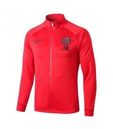 Jordan Paris Saint Germain Red Jacket High Neck 2019-2020