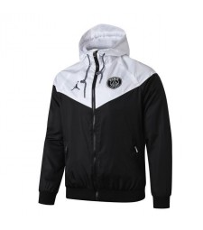 Jordan Paris Saint Germain White Black Windrunner 2019-2020