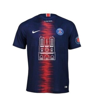 Paris Saint Germain Home Jersey Pays Tribute To Notre Dame de Paris 2019