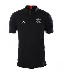 Jordan Paris Saint Jermain Polo Black 2018-2019