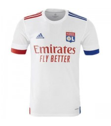 Olympique Lyon Home Football Shirt Mens Soccer Jersey 2020-2021