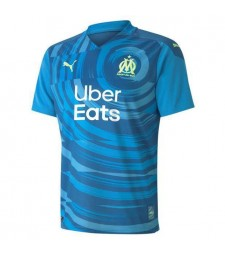 Olympique De Marseille Third Soccer Jerseys Mens Football Shirts Uniforms 2020-2021