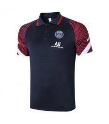 Paris Saint Germain PSG Royal Blue Soccer Jerseys Football Polo 2020-2021