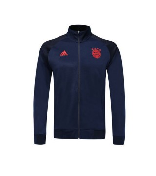 Bayern Munich Royal Blue Turtleneck Jacket 2019-2020