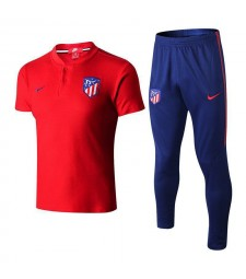 Atletico De Madrid Men Polo+Pant Kit Red 2018/2019