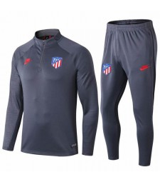 Atletic Madrid Gray Printed Sleeves Tracksuit 2019-2020