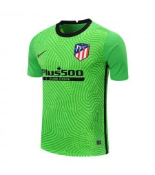 Atletico Madrid Green Goalkeeper Soccer Jersey Mens Football Shirt 2020-2021