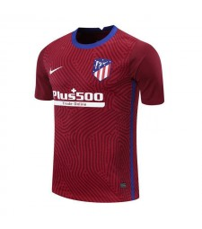 Atletico Madrid Red Goalkeeper Soccer Jersey Mens Football Shirt 2020-2021
