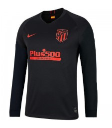 Atletico De Madrid Away Long Sleeves Jersey Mens  Football Shirt 2019-2020