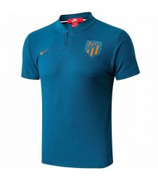 Atletico De Madrid Polo Jersey Teal Shirt 2019