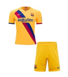 Barcelona Away Soccer Kids Kit Jersey 2019-2020