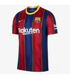 Barcelona Home Soccer Jersey Mens Football Shirt 2020-2021