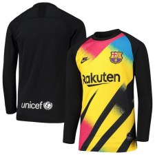 Barcelona Goalkeeper Long Sleeve Jersey Mens Soccer Football Shirt 2019-2020