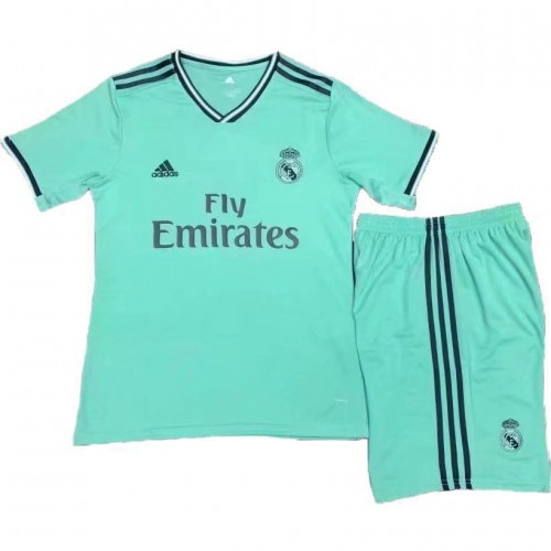 newest e1b55 67e4b Real Madrid Third Kids Kit 2019-2020