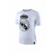Real Madrid White Round-neck Shirt 2019