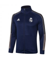 Real Madrid Royal Blue Soccer Jacket Football Tracksuit 2020-2021