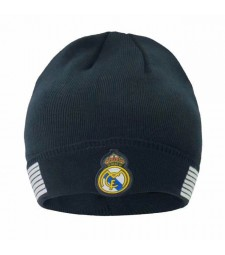 Real Madrid Black Wool Cap 2019