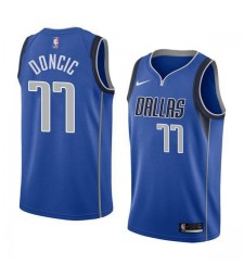 Dallas Mavericks Luka Doncic 77# Jersey Blue 2018/2019