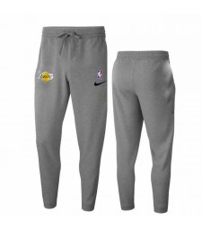 Los Angeles Lakers Gray Trousers 2019