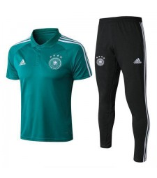 Germany Men Short Training Suit Kit Green 2018/2019