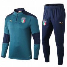 Italy National Team Green Jacket Classic 2019-2020