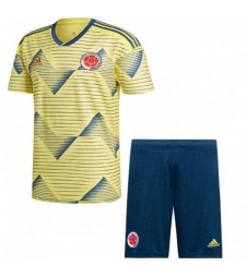 Colombia 2019 Copa America Home Kids Kit