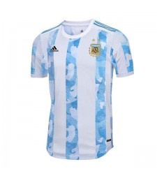 Argentina National Team Home Soccer Jerseys Mens Football Shirts Uniforms 2020