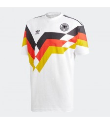 Germany Retro Home Soccer Jersey Mens Football Shirt 1990