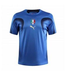 Italy Retro Home Soccer Jerseys Mens Football Shirts 2006