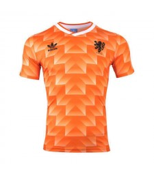 Netherlands Retro Home Soccer Jersey Mens Football Shirt 1988