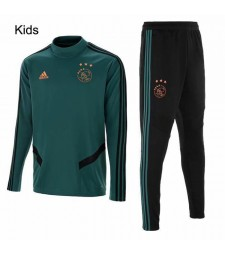 Ajax Dark Green Kids Tracksuit 2019-2020
