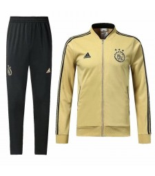 Ajax Yellow Tracksuit 2018/2019