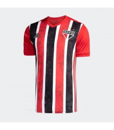Sao Paulo Away Soccer Jerseys Mens Football Shirts Uniforms 2020-2021