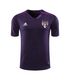 Sao Paulo Purple Goalkeeper Soccer Jerseys Mens Football Shirts Uniforms 2020-2021