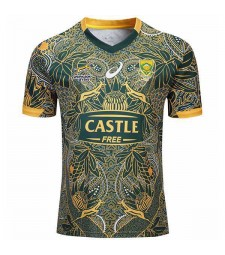 South Africa Nelson Mandela Centenary Asics 100th Limited Edition Jersey 2019