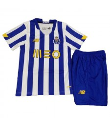 FC Porto Home Soccer Jersey Kids Kit Football Shirt Youth Uniforms 2020-2021