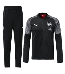 Arsenal Black Tracksuit 2018/2019