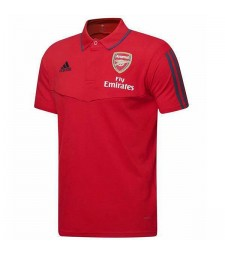 Arsenal Polo Jersey Football Training Jersey Red Soccer Teal Sportwear T-shirt 2019-2020