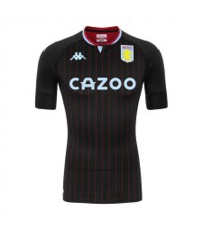 Aston Villa Away Soccer Jerseys Mens Football Shirts Uniforms 2020-2021