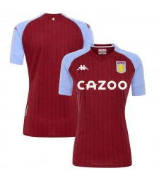 Aston Villa Home Soccer Jerseys Mens Football Shirts Uniforms 2020-2021