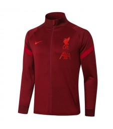 Liverpool Full Zipper Red Jacket 2020-2021