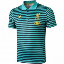 Liverpool Mens Soccer Polo Green Strip 2019-2020